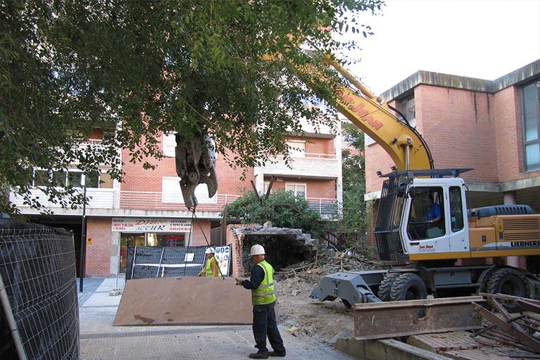 Demolici n de edificio centro de salud rd san juan - Centro de salud san juan ...