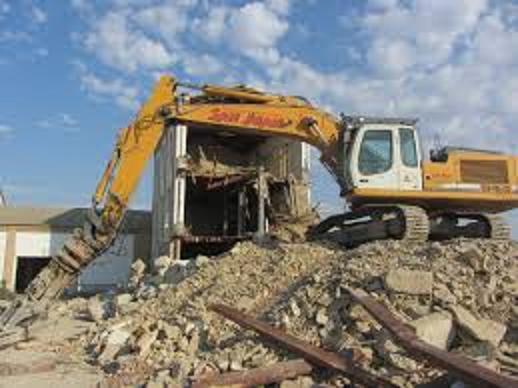 Demolición mecánica