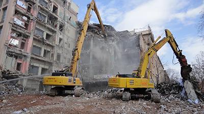 Maquinaria para demolición