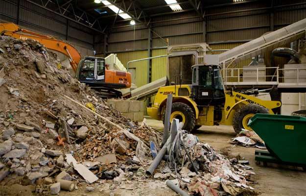 Composición de los residuos de construcción