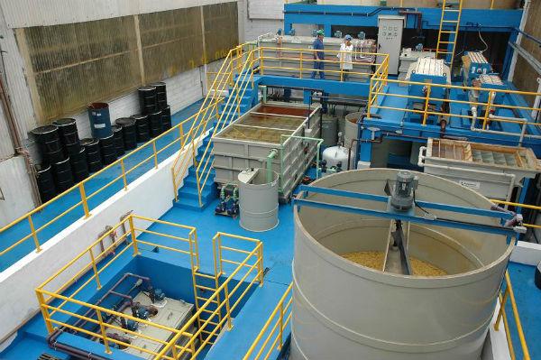 Planta de gestión y tratamiento de residuos industriales
