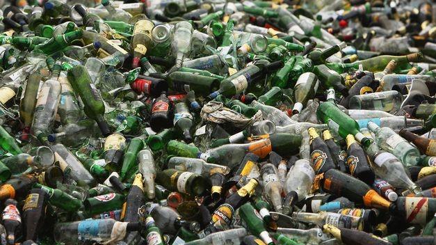 Residuos sólidos urbanos de vidrio