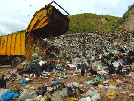 Desechos sólidos para reciclaje