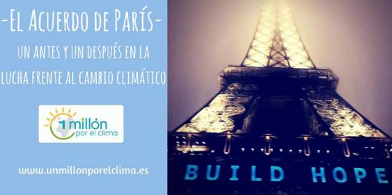 Charla sobre el acuerdo de París