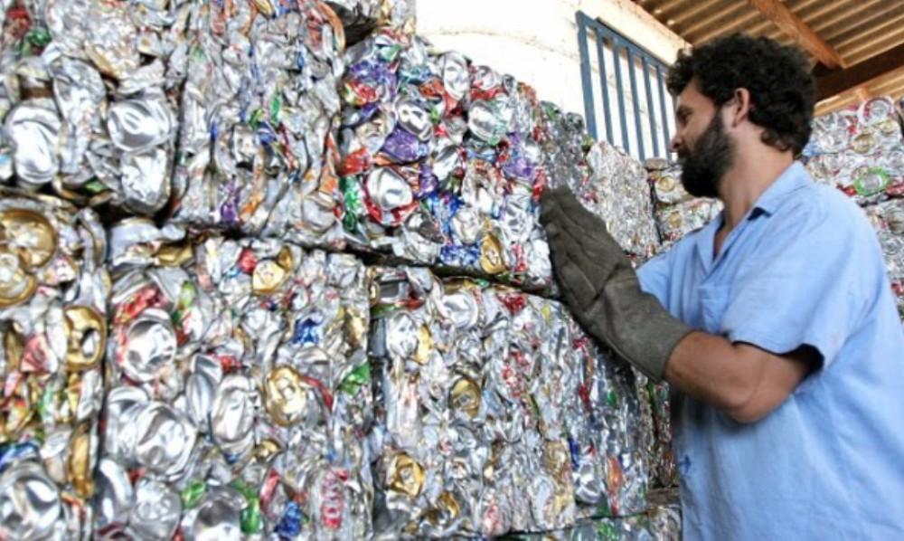 Aumento del volumen de residuos reciclados en el año 2015