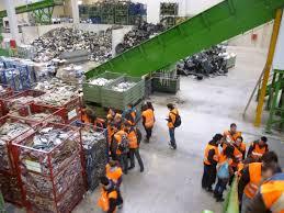 Proceso de gestión de residuos en Madrid