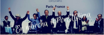 Firma del Acuerdo de París contra el cambio climático