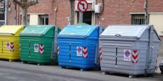 Contenedores de reciclaje en Madrid