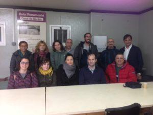 """Alumnos del curso de gestión de residuos del centro """"Río Gállego"""""""