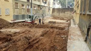 Las excavaciones en Barcelona