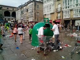 Proceso de reciclaje en Vitoria