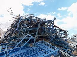 Proceso de reciclaje de la chatarra en Pamplona