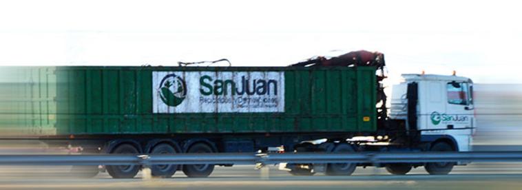Reciclados y Demoliciones San Juan en Villanueva de Gállego