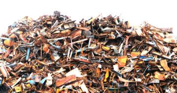 Fases del reciclaje de la chatarra