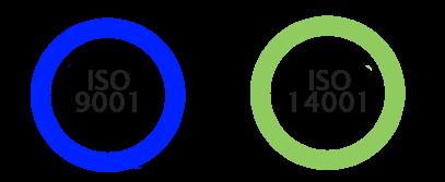 Normas ISO 9001 y 14001