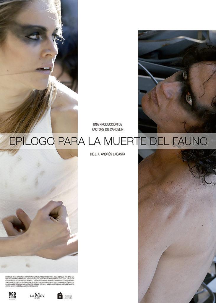 Cartel del largometraje Epílogo para la muerte del fauno