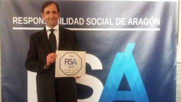Reciclados y Demoliciones San Juan recibiendo el sello de RSA