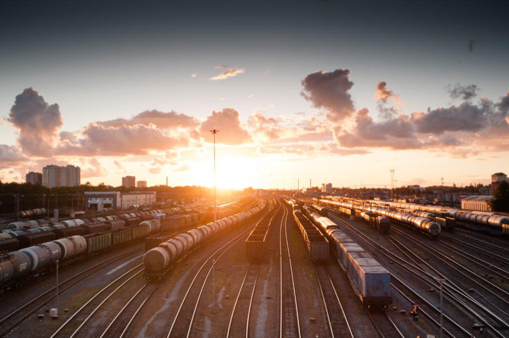 Desguace de materiales ferroviarios